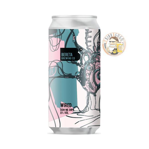 Bereta Brewing Co. Wired DDH NE DIPA 44 cl. (Lattina)