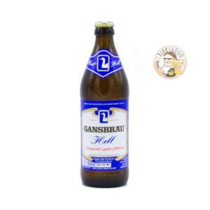 Gansbräu Hell 50 cl. (Bottiglia)